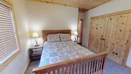 Another view of the second bedroom.
