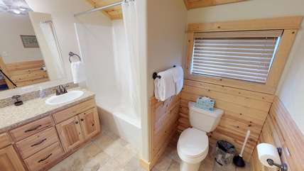 Towels and toilet paper are provided for your stay in Armitage.