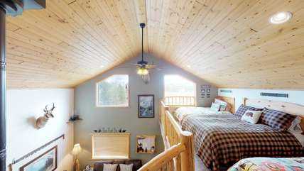 Gorgeous spacious cabin!