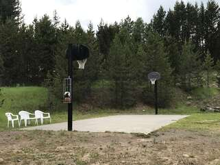 Basketball court (Balls Included)