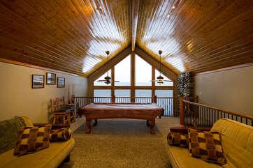 Loft space, different view