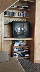 Loft TV with DVD player