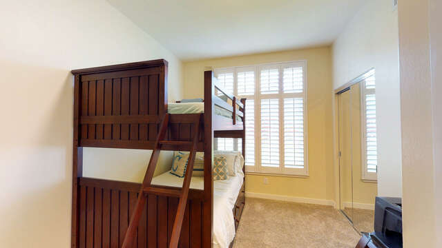 Second Bedroom with Full Bunk Beds