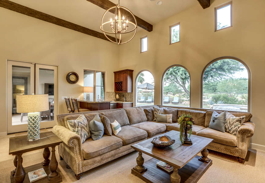 Comfortable and elegant living room