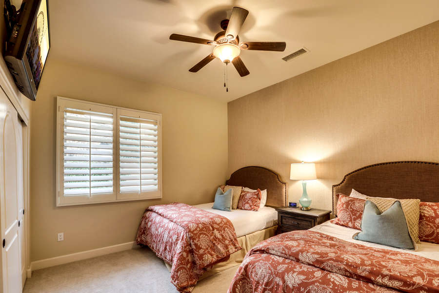 Suite 4 with two queen beds