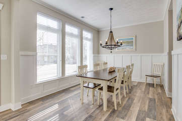 Dining room facing 22nd Street