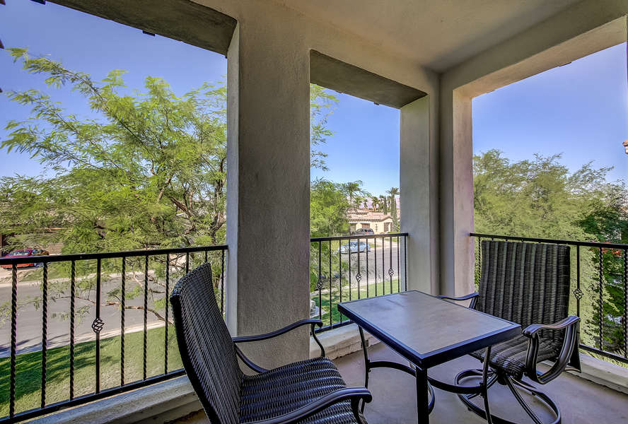Master bedroom private balcony