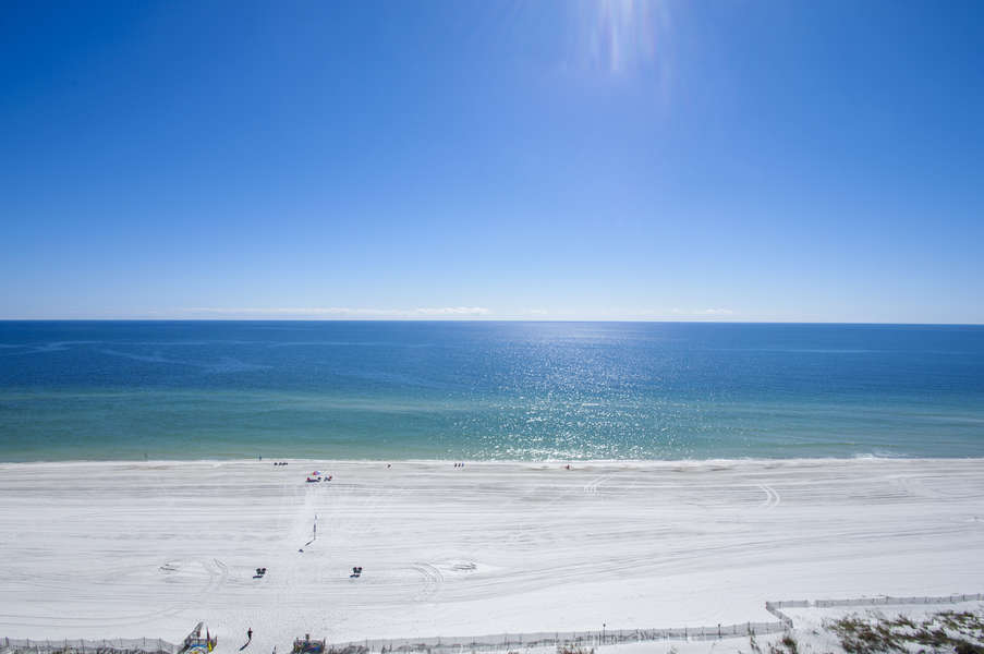 Beach View from the 14th Floor