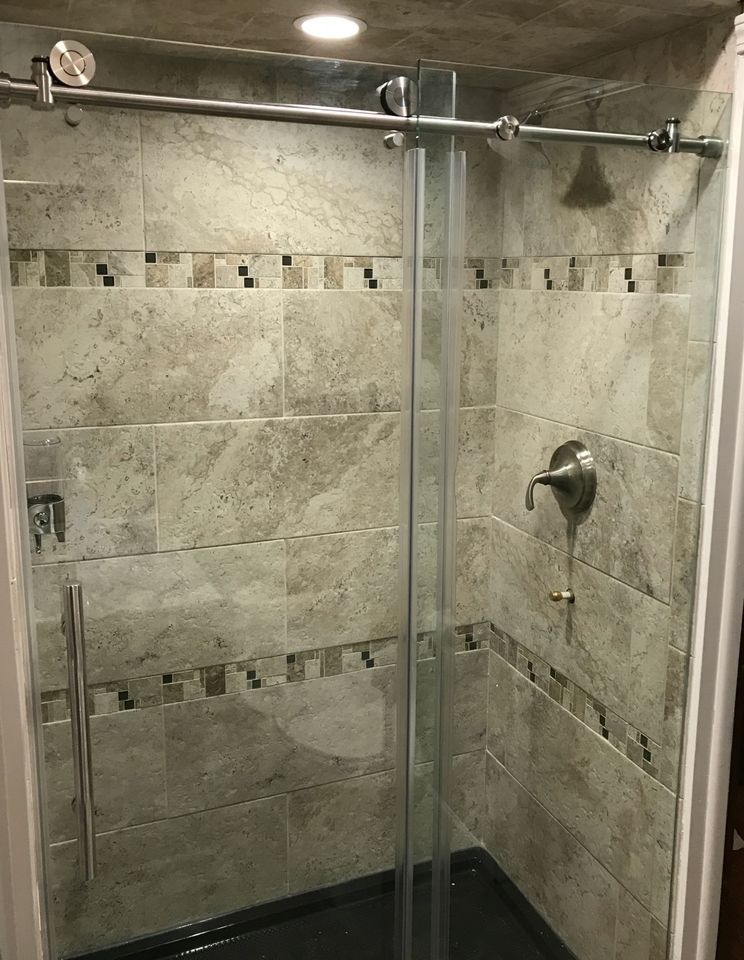 Updated Shower