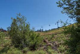 Views of Tahoe Donner ski area