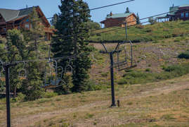 Views of chair lift