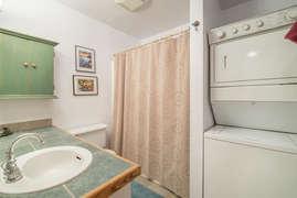 Bathroom 1 with washer/dryer