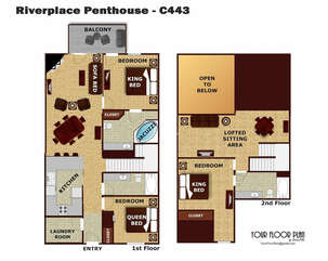 C443 Riverplace Penthouse