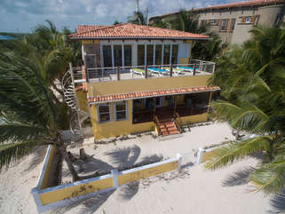 Casa De Bonita Layout on the private upper deck and enjoy the caress of  the warm Caribbean sunExplore Belize Guided Tours