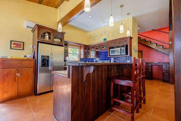 Casa De Bonita fully equipped kitchen