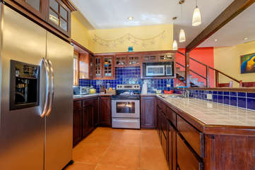 Casa De Bonita full equipped kitchen