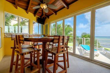 Casa De Bonita upper floor dinning & bar area