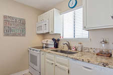 Great vacation rental condo.  Prepare a quick meal or snacks in the spacious kitchen.