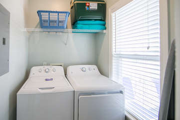 Laundry Room off Front Entrance