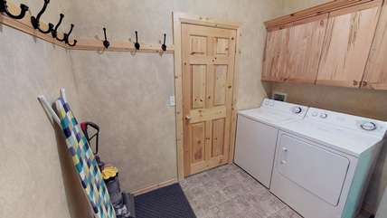 A washer and dryer is available for your use during your stay.