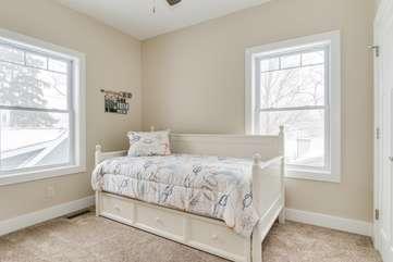 Second Floor Bedroom w/Trundle