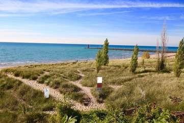 Van Buren Beach Access