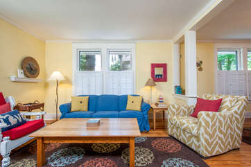 Living Room - Sleeper Sofa Available