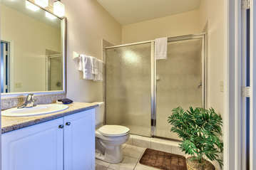 Bathroom Attached To Twin Room;