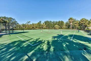 Tennis Courts Inside The Greenlinks Community.