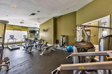 Fitness center;