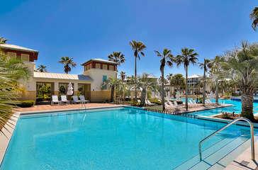 12,000 sq. ft. Luxury Community Pool