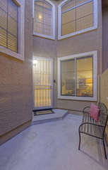 Private entrance invites you to enter beautiful condo