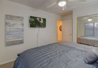 With televisions in all bedrooms you can watch your favorite shows or games from the comfort of your bedroom