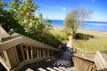 Newcomb Beach Access
