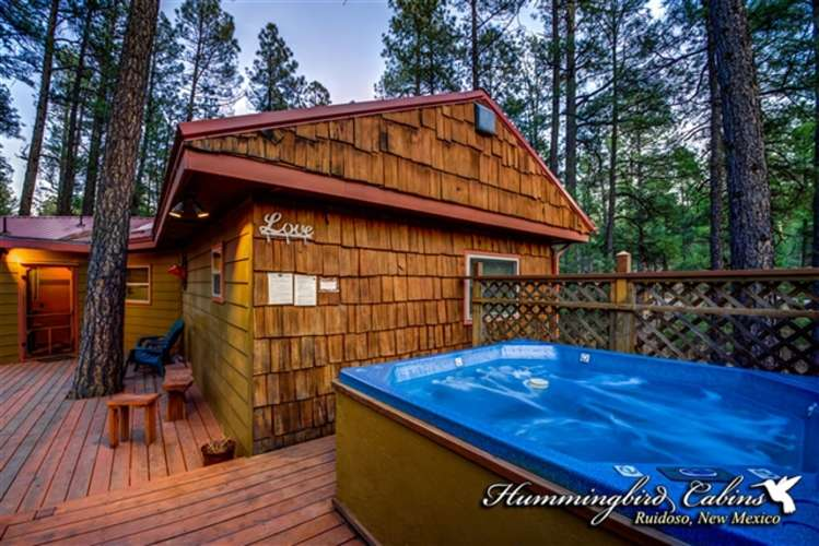 Spacious decks great for enjoying wildlife and the hot tub