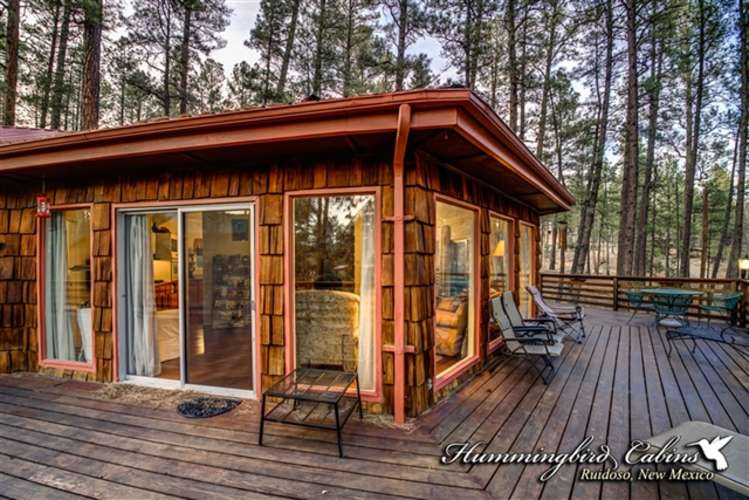 Spacious decks great for enjoying wildlife