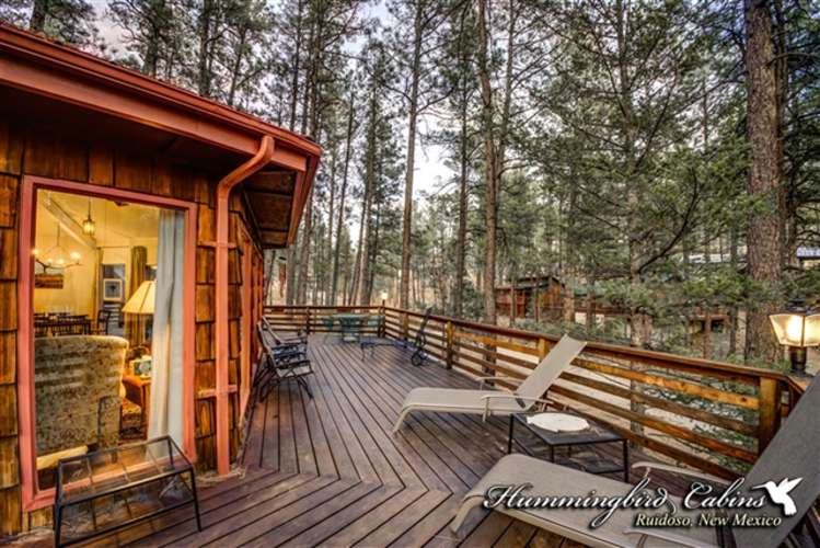 Spacious decks great for enjoying BB's and  wildlife