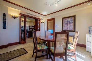 La Beliza 205 Dining Room area