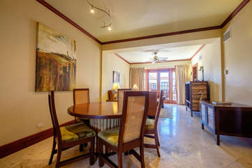 La Beliza 206 Large Dining and living room area