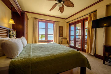 La Beliza Master Bedroom suite beach front view