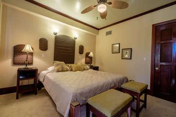 La Beliza 604 Guest Bedroom Beachfront view