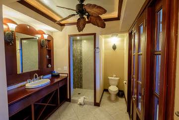 La Beliza 604 Master Bathroom suite large walk in shower