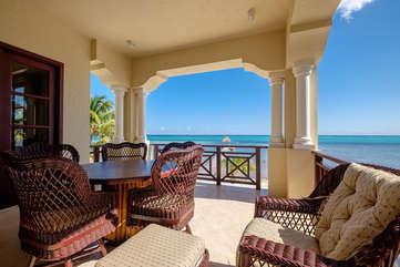 La Beliza 604 Veranda 2nd floor Beachfront view
