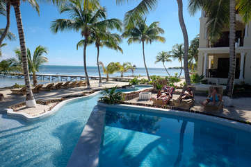 La Beliza Beachfront bliss enjoy the warm Caribbean breeze around the pool