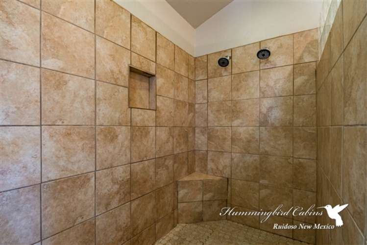Additional view of walk in shower