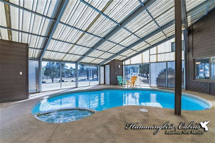 Enjoy a swim in the indoor pool!