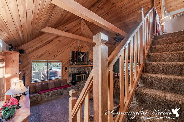 Stairs to Master Loft suite.