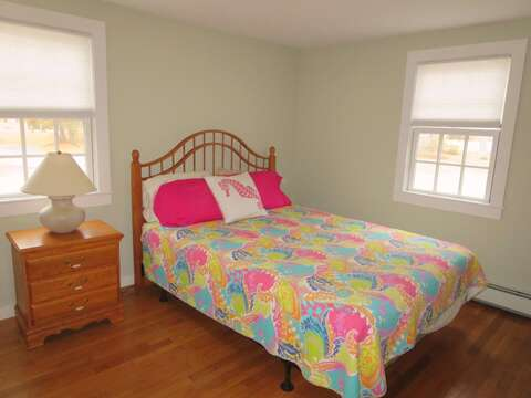 Bedroom #2 with a Queen Bed - 33 Pine Grove West Harwich Cape Cod -  New England Vacation Rentals