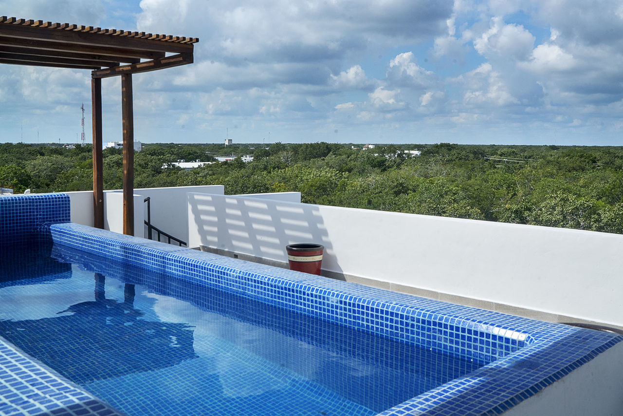Apartment Mun Tulum     Leisure 2BDR Penthouse with Own Rooftop photo 20107096