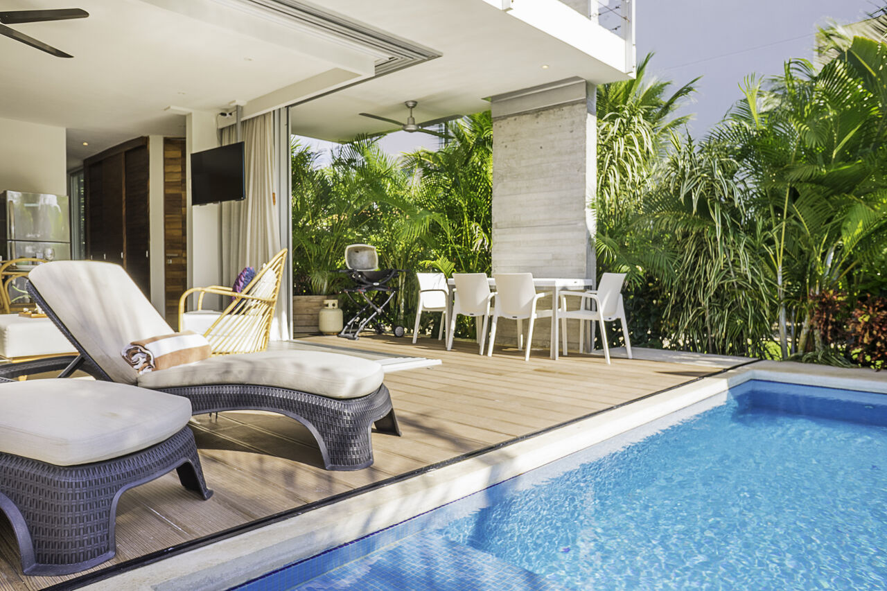 Apartment Villa 34     Luxury Jungle 2BD Villa     Private Pool   Garden photo 24803638